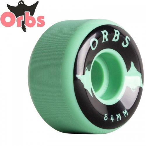 【オーブス ORBS スケボー ウィール】SPECTERS SOLID フルコニカル 99A グリーン【54mm】NO18
