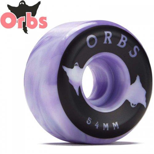 【オーブス ORBS スケボー ウィール】SPECTERS SWIRLS フルコニカル 99A パープル【54mm】NO19