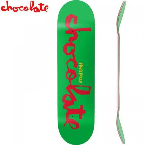 【チョコレート CHOCOLATE スケートボード デッキ】PEREZ ORIGINAL CHUNK DECK[8.25インチ]NO201