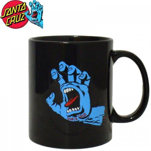 【サンタクルーズ SANTA CRUZ マグカップ】SCREAMING HAND MUG【ブラック】No17