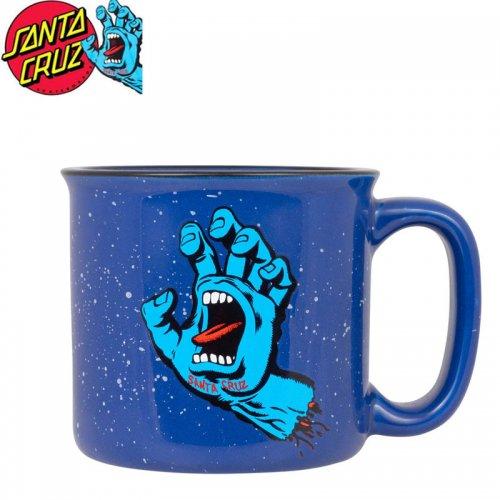 【サンタクルーズ SANTA CRUZ マグカップ】SCREAMING HAND MUG【ブルー】No18