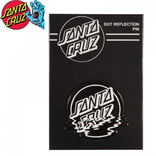 【サンタクルーズ SANTA CRUZ ピンバッチ】DOT REFLECTION PIN【3.5cm x 3.5cm】NO5