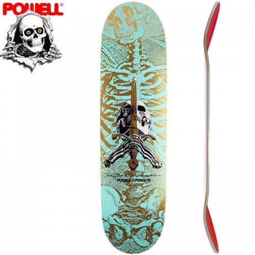 【パウエル POWELL スケートボード デッキ】SKULL AND SWORD DECK[8.5インチ]NO59