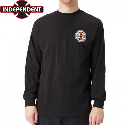 【インディペンデント ロングTシャツ】SUSPENSION SKETCH L/S TEE【ブラック】NO18