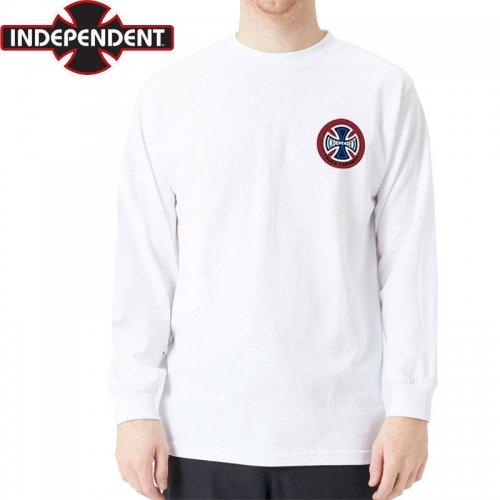 【インディペンデント ロングTシャツ】SUSPENSION SKETCH L/S TEE【ホワイト】NO19