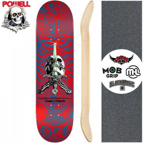 【パウエル POWELL スケートボード デッキ】SKULL AND SWORD DECK[9.0インチ]NO60