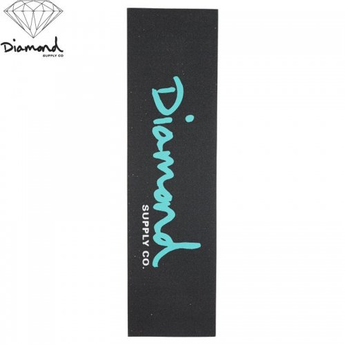 【DIAMOND SUPPLY ダイアモンド デッキテープ】DIAMOND OG SCRIPT GRIPTAPE BLUE 9 x 33 NO10