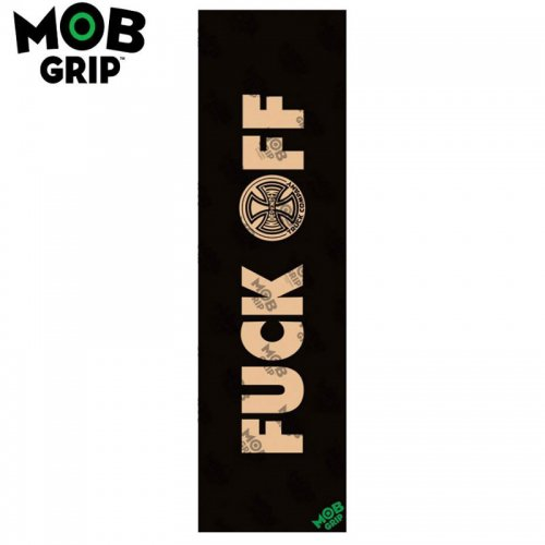 【モブグリップ MOB GRIP デッキテープ】INDEPENDENT FUCK OFF CLEAR GRIPTAPE 9 x 33 NO177