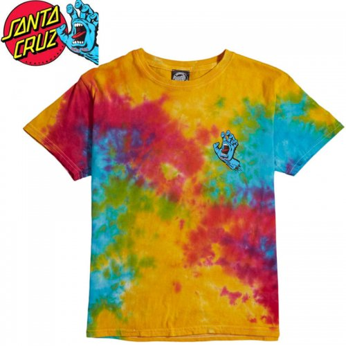 【サンタクルズ SANTA CRUZ キッズ Tシャツ】SCREAMING HAND TEE【ユース サイズ】NO55