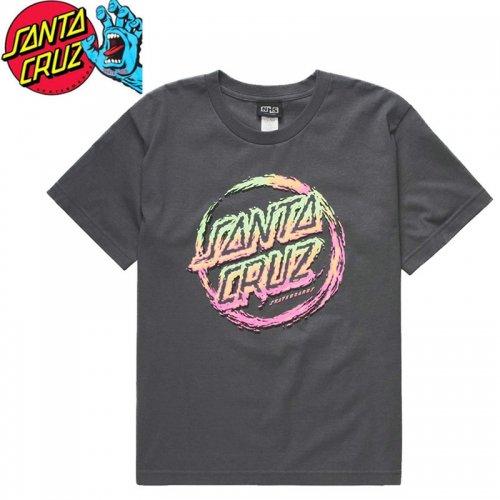 【サンタクルズ SANTA CRUZ キッズ Tシャツ】THROWDOWN DOT REGULAR TEE【ユース サイズ】NO56
