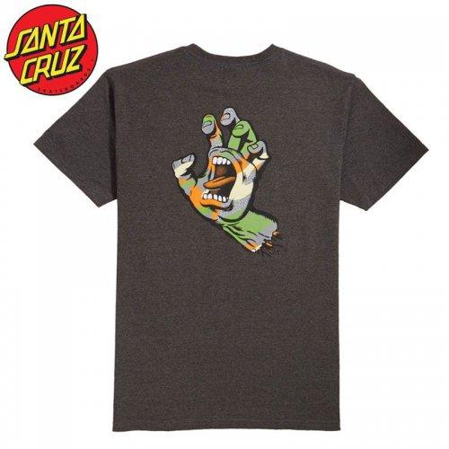 【サンタクルズ SANTA CRUZ スケボー Tシャツ】PRIMARY HAND S/S TEE【チャコールヘザー】NO123