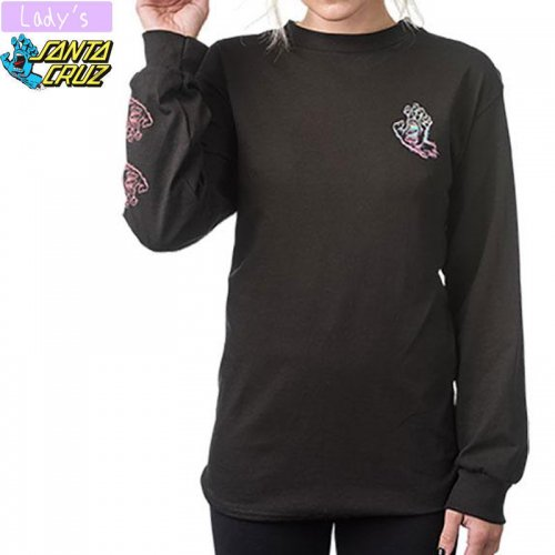 【サンタクルーズ SANTA CRUZ レディース】THROWDOWN HAND BOYFRIEND LONG SLEEVE TEE NO27