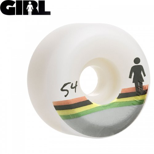 【GIRLSKATEBOARD ガールスケートボード ウィール】HORIZON CONICAL WHEEL 99A【54mm】NO41