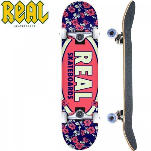 【リアル REAL スケートボード コンプリート】OVAL BLOSSOMS COMPLETE[7.75インチ]NO23