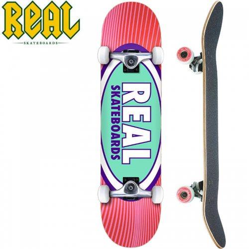 【リアル REAL スケートボード コンプリート】OVAL RAYS COMPLETE[8.0インチ]NO27