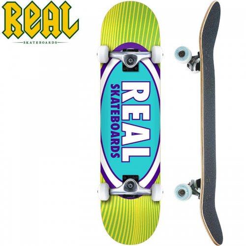 【リアル REAL スケートボード コンプリート】OVAL RAYS COMPLETE[7.75インチ]NO28
