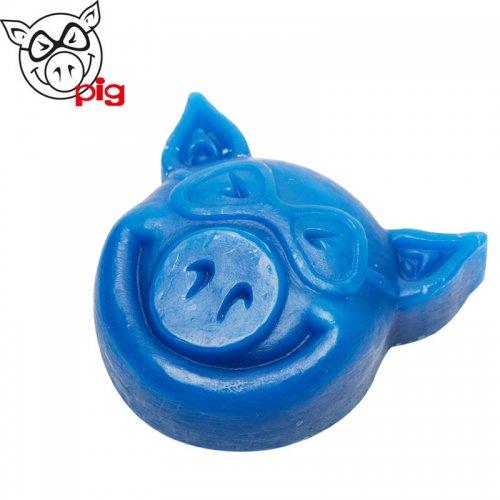 【ピッグ PIG スケボーワックス】HEAD WAX ブルー NO5