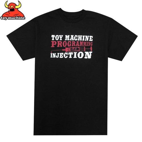 【トイマシーン TOY MACHINE スケボー Tシャツ】PROGRAMMING TEE【ブラック】NO252