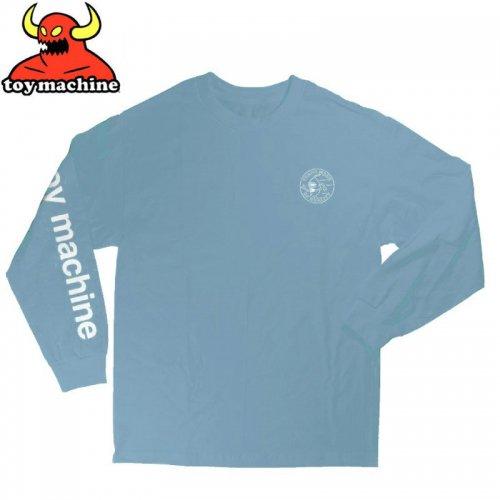 【トイマシーン TOY MACHINE スケボー ロングTシャツ】LOYAL PAWNS L/S T-SHIRT【スカイブルー】NO07