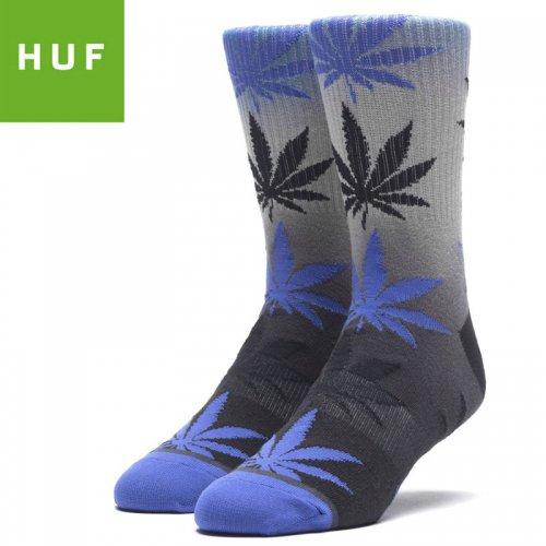 【HUF ハフ スケボー ソックス】靴下 GRADIENT DYE PLANTLIFE SOCKS ネビュラブルー NO79