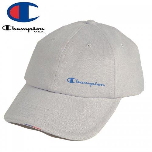 【CHAMPION チャンピオン ベースボールキャップ】YC DAD CAP ミディアムグレー NO10