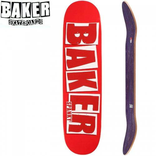 【ベーカー BAKER スケボー デッキ】KL BRAND NAME RED DECK[8.25インチ]NO267