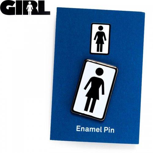 【GIRL ガールスケートボード ピンバッチ】LOGO ENAMEL PIN NO8