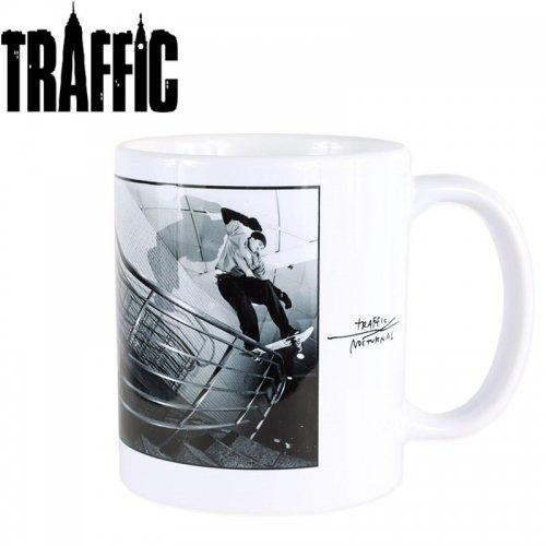 【トラフィック スケボー マグカップ】TRAFFIC x NOCTURNAL MUG 8cm x 9.7cm NO2