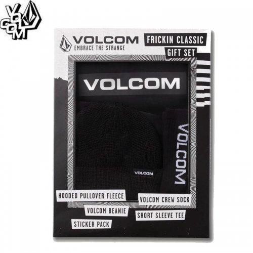 【ボルコム VOLCOM ユース ギフト】YOUTH FRICKIN CLASSICS GIFT SET 【ブラック】NO8