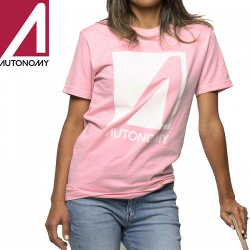 【オートノミー AUTONOMY レディース Tシャツ】NO COMPLY TEE【ライトピンク】NO2