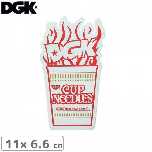 【ディージーケー DGK スケボー ステッカー】DGKxCUP NOODLES STICKER【11cm×6.6cm】NO93