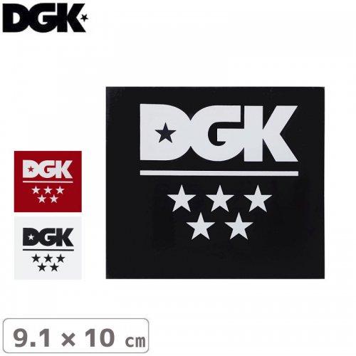 【ディージーケー DGK スケボー ステッカー】5 STAR STICKER【9.1m×10cm】NO94