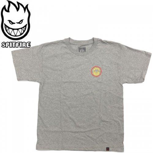半額セール【SPITFIRE キッズ Tシャツ】CLASSIC SWIRL YOUTH TEE ユースサイズ 【アッシュヘザー】NO55