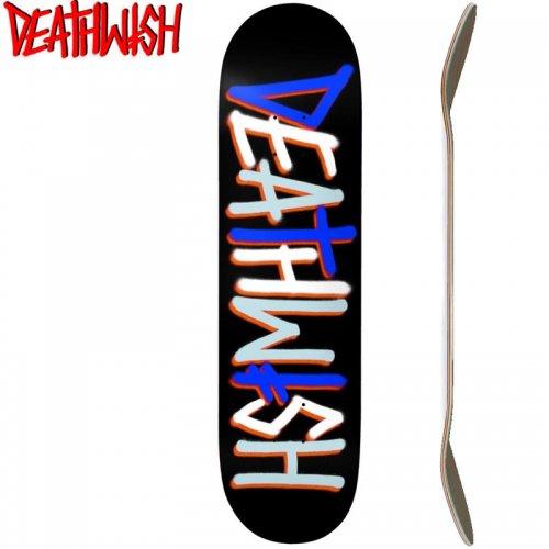 【デスウィッシュ DEATH WISH スケボー デッキ】DEATHSPRAY DECK[8.0インチ]マルチカラー NO110