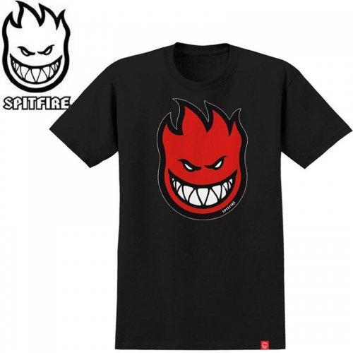 半額セール【SPITFIRE キッズ Tシャツ】BIGHEAD FILL YOUTH TEE ユースサイズ 【ブラック】NO60