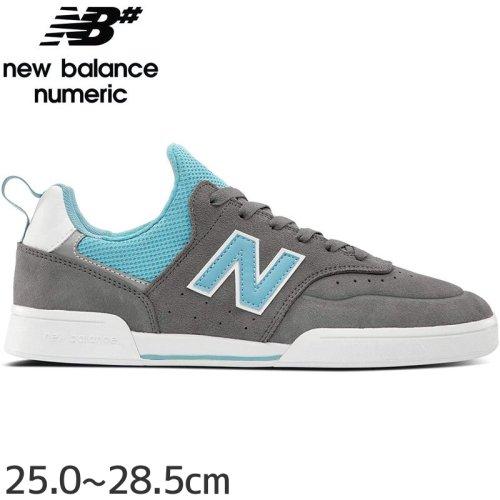 【NEW BALANCE NUMERIC ニューバランス シューズ】NM288SMI SHOES スウェード【グレー/サックス】NO32