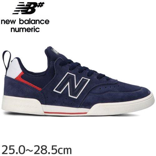 【NEW BALANCE NUMERIC ニューバランス シューズ】NM288SMI SHOES スウェード【ネイビー/レッド】NO33