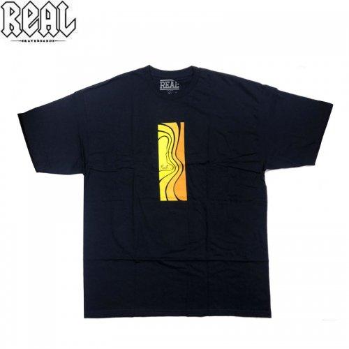 半額セール【REAL リアル スケートボード Tシャツ】LOVE TEE【ネイビー】NO67