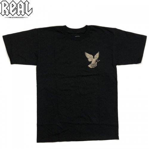 半額セール【REAL リアル スケートボード Tシャツ】MATCHBOOKS TEE【ブラック】NO73