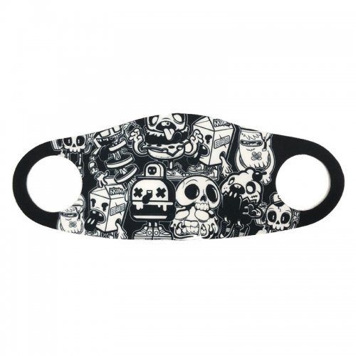 【ONE IN A MILLION 小物 マスク】MOTOR CYCLE FACE MASK NO5