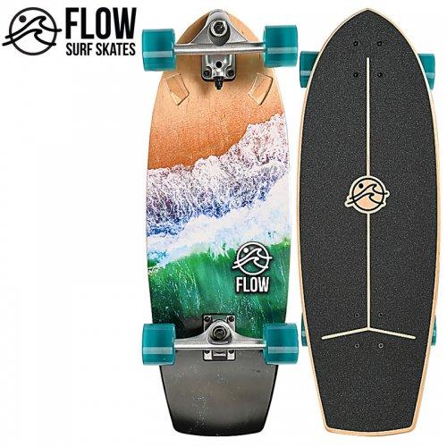 【FLOW フロー ロングボード コンプリート】WAVE SURF SKATE サーフスケート[29インチ]NO2