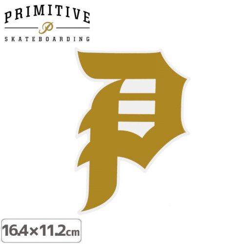 【プリミティブ PRIMITIVE スケボー ステッカー】DIRTY P STICKER【16.4cm×11.2cm】NO26