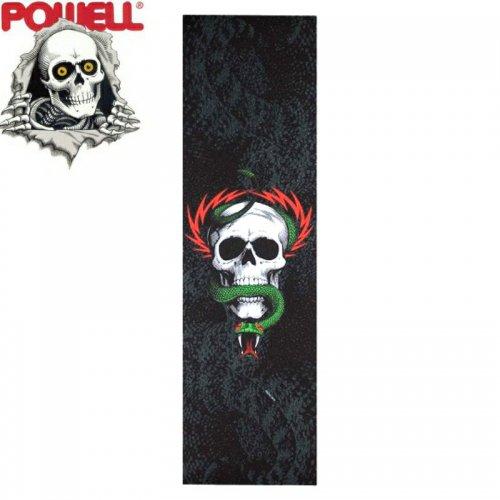 【パウエル POWELL GRIPTAPE デッキテープ】MIKE MCGILL SKULL&SNAKE 10.5x33 NO20