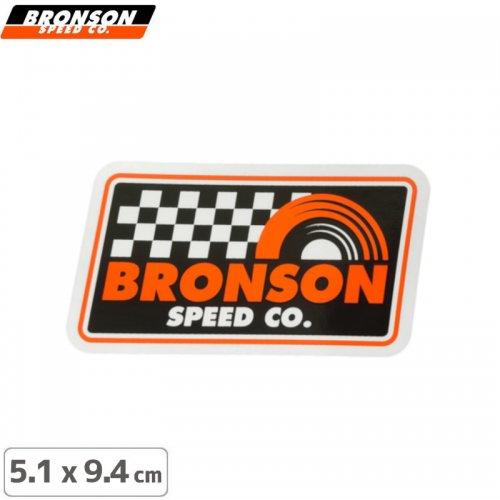 【BRONSON ブロンソン スケボー ステッカー】VICTORY LAP STICKER【5.1cm x 9.4cm】NO7