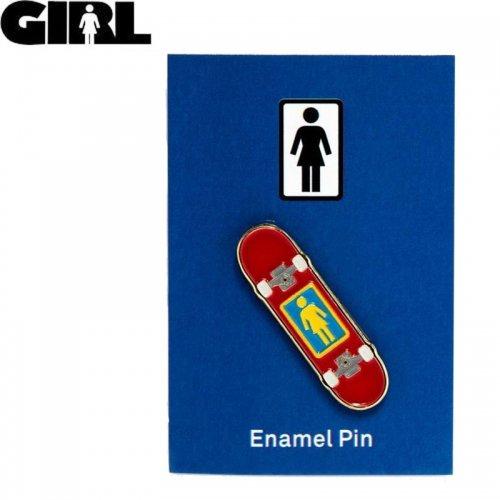 【GIRL ガールスケートボード ピンバッチ】ENAMEL PIN 3.9cm x 1cm NO10