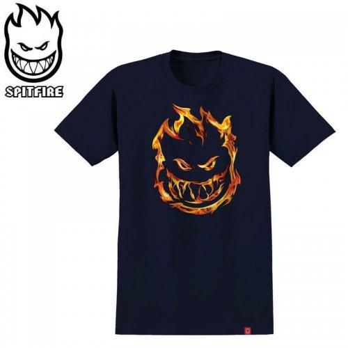 半額セール【SPITFIRE キッズ Tシャツ】451 PREMIUM YOUTH TEE ユースサイズ 【ネイビー×レッド】NO68