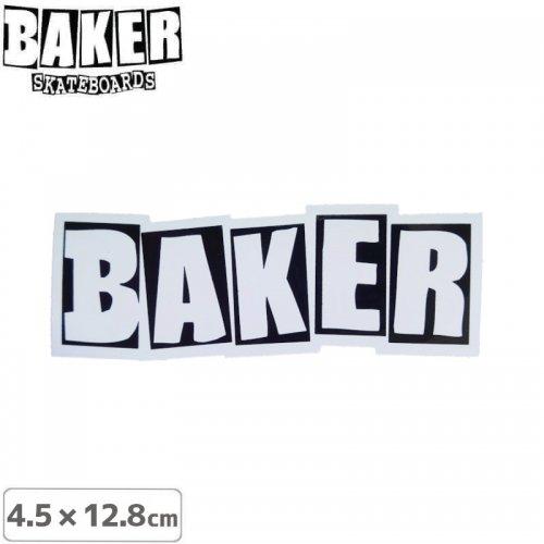 【ベーカー スケボー ステッカー】BAKER LOGO STICKERR【4.5cm×12.8cm】NO69