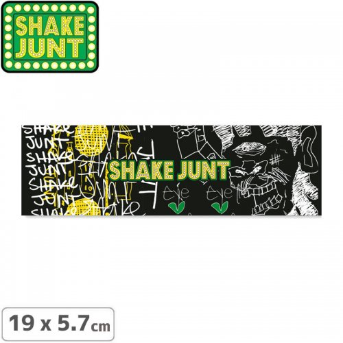 【シェークジャント SHAKE JUNT STICKER ステッカー】ZACH STICKER 19 x 5.7cm NO52