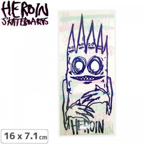 【ヘロイン HEROIN スケボー ステッカー】LEE YANKOU STICKER 16 x 7.1cm NO43