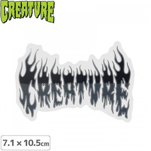 【クリーチャー CREATURE スケボー ステッカー】FIRESTARTER STICKER【7.1cmx10.5cm】NO45